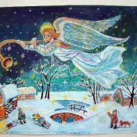 Районный конкурс творческих работ ИЗО и ДПИ «Рождественская звезда»